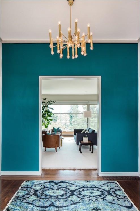galapagos turquoise walls ikat rug