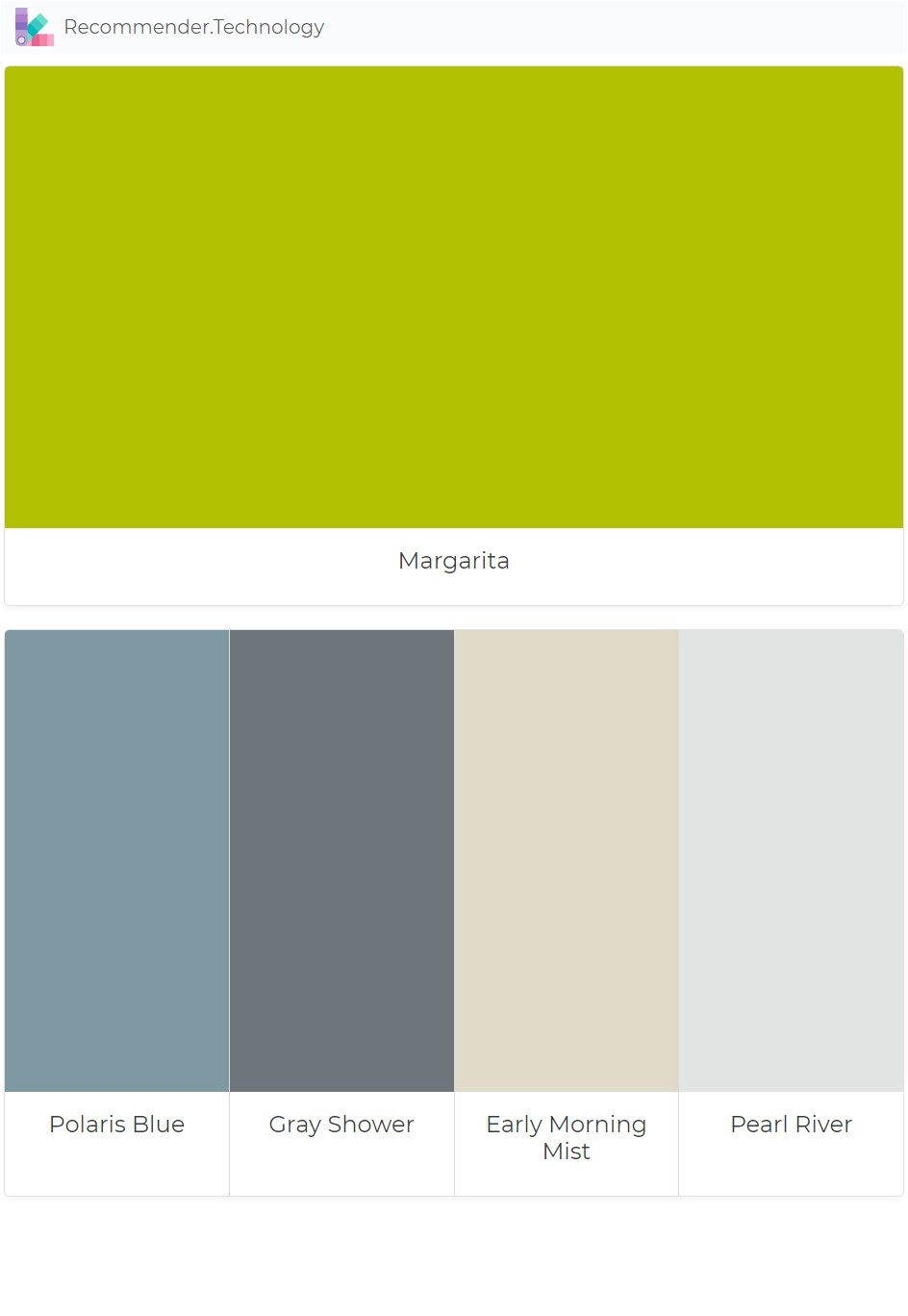 margarita polaris blue gray shower early morning mist pearl river paint color