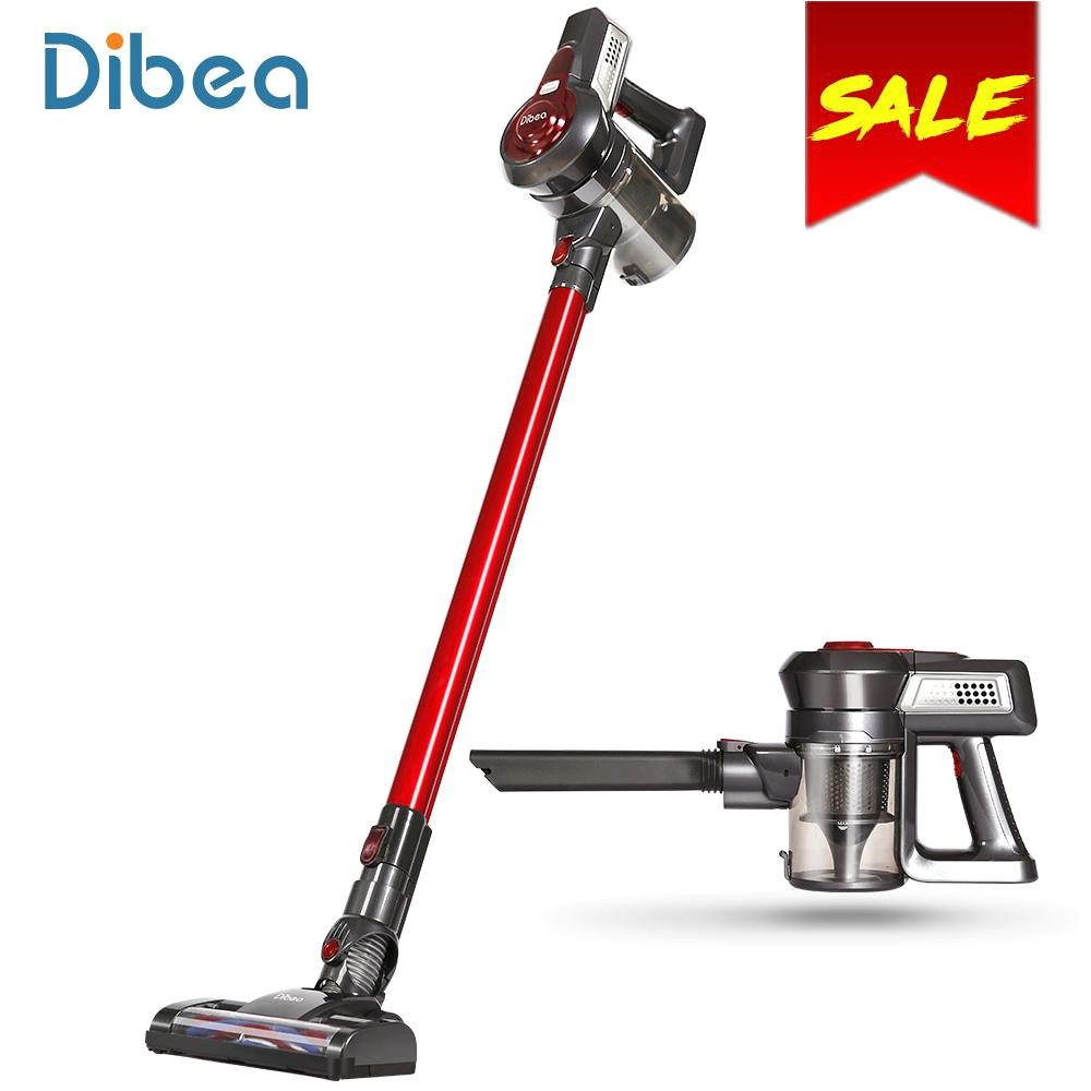 dibea c17 portable 2 in1 cordless stick handheld vacuum cleaner dust collector household aspirator with docking station sweeper portable vacuum cleaner