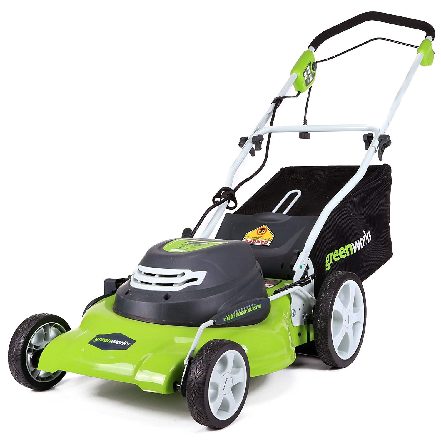 best overall electric greenworks 12 amp corded 20 inch lawn mower