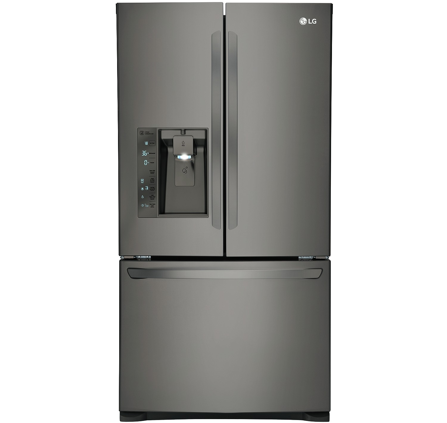 Best Rated Counter Depth Refrigerator with Bottom Freezer Lg Counter Depth Bottom Freezer Refrigerator Lfxc24726d