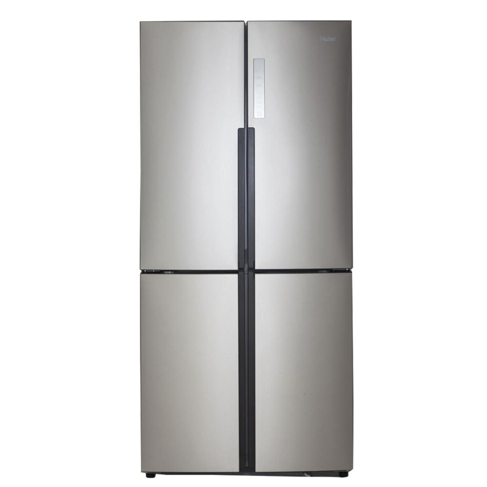 best quad door design counter depth fridge haier quad french door refrigerator
