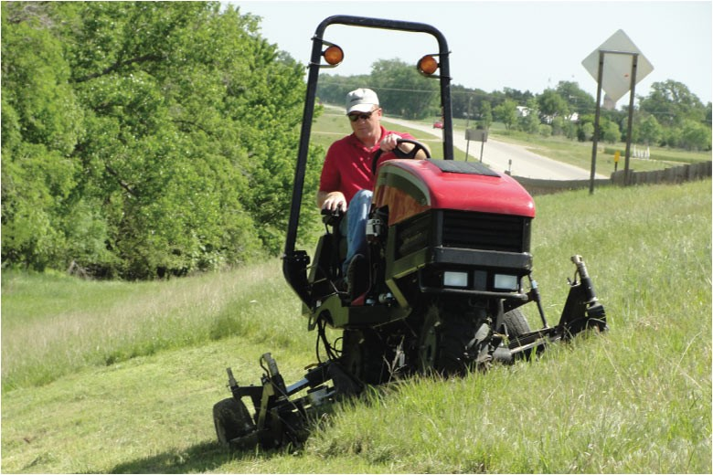 best lawn mower for hills