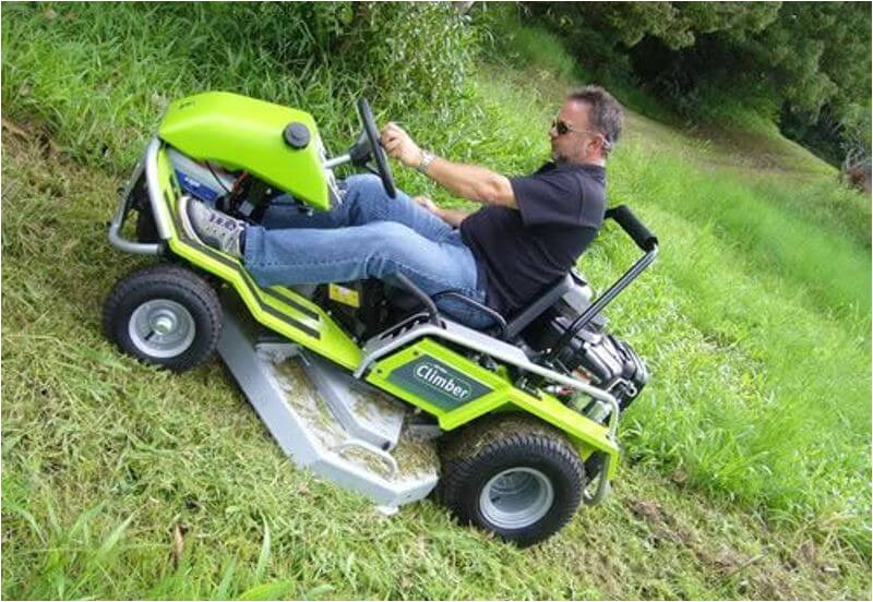 riding lawn mowers for hills photos