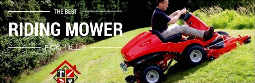 best riding mower for hills