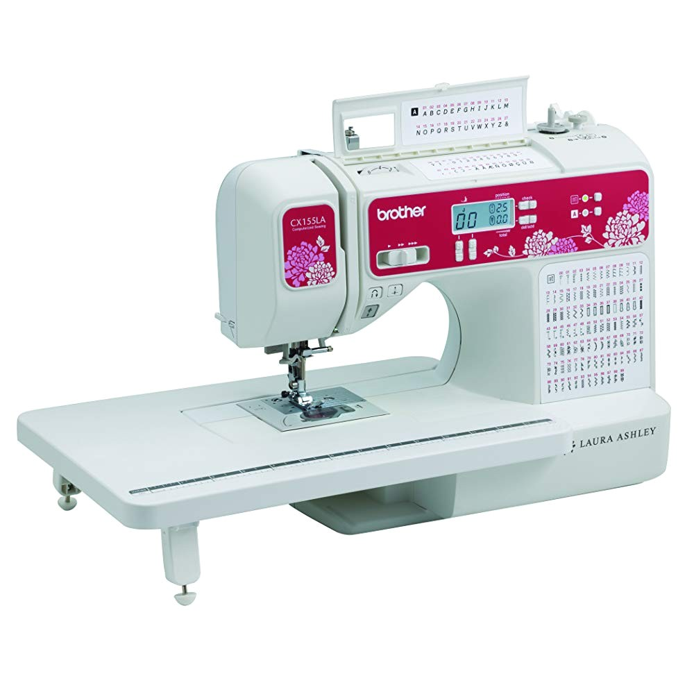 in the box cx155la computerized sewing and quilting machine