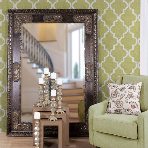 Better Homes and Gardens 27 X 70 Inch Leaner Mirror Better Homes and Gardens Leaner Mirror Walmart Com