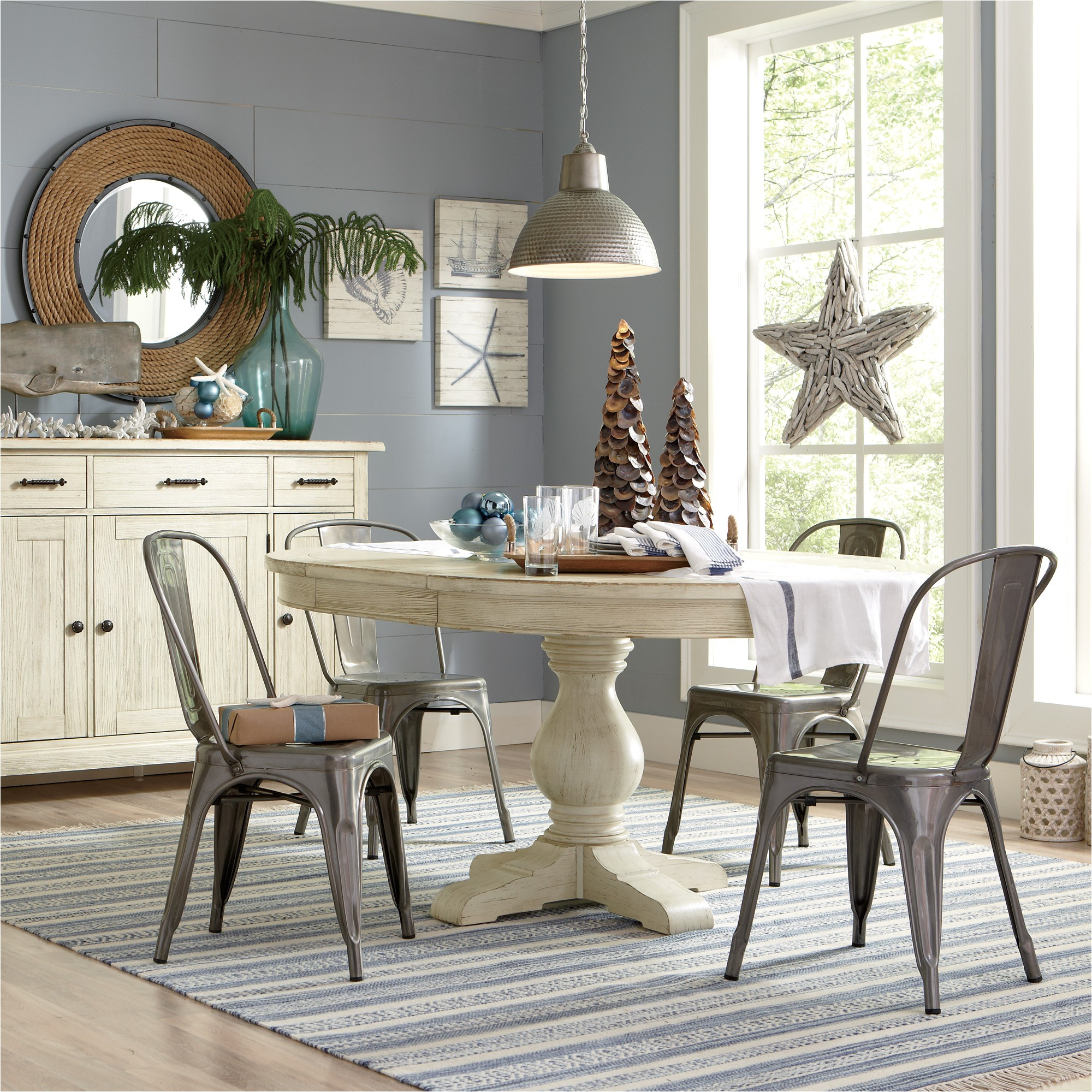 birch lane clearbrook round extending dining table bl6321