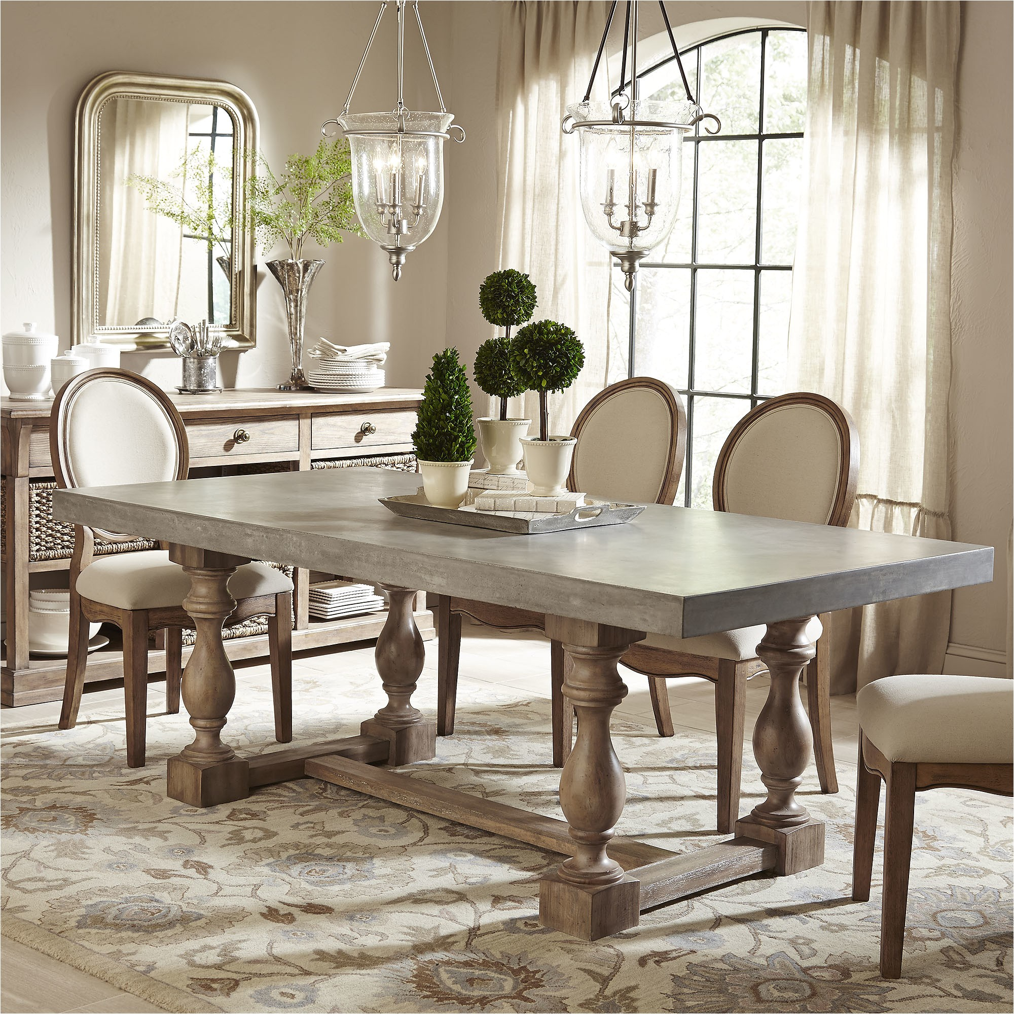 hutchinson dining table bl7600 bl7600