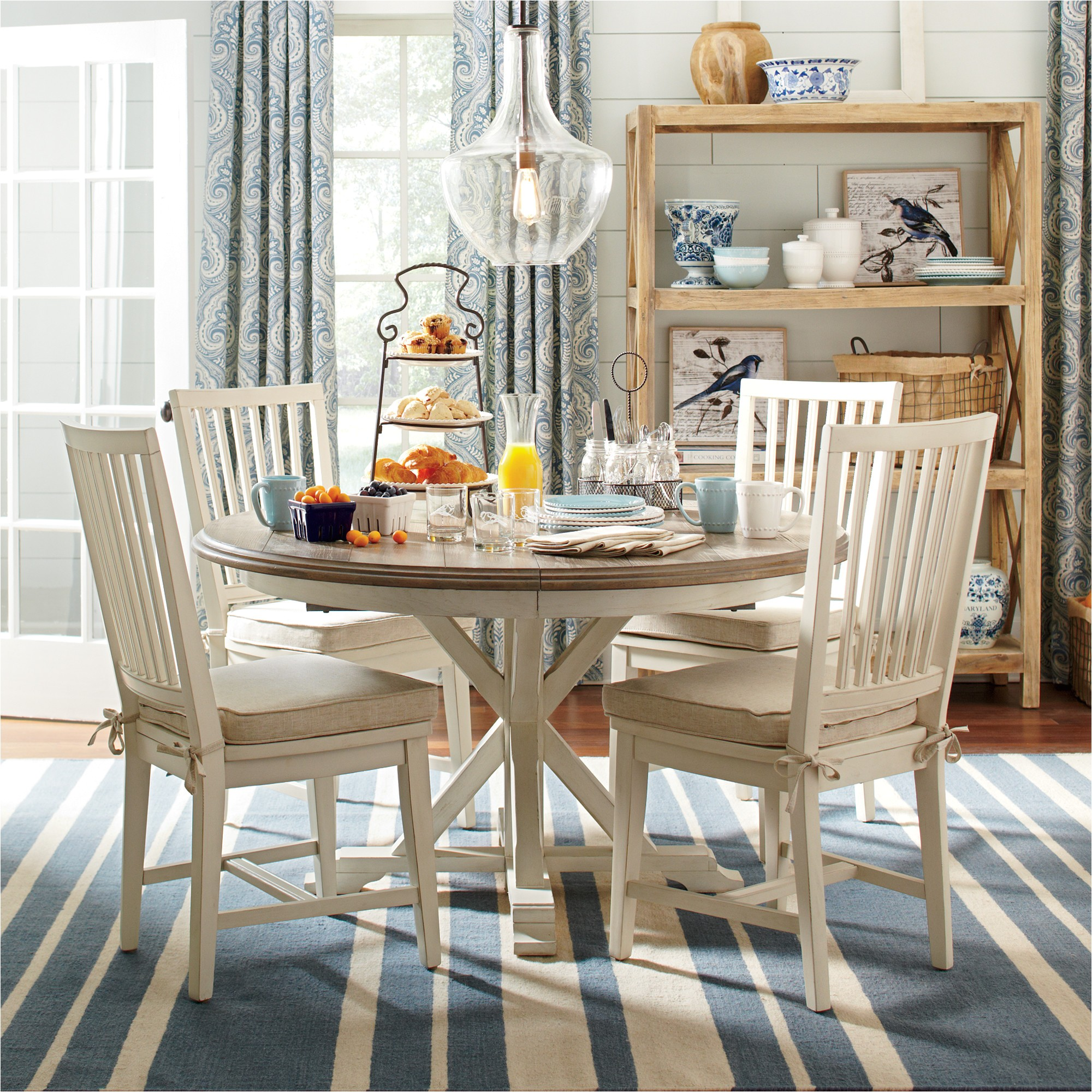 birch lane grafton extending round dining table bl3656 bl3656