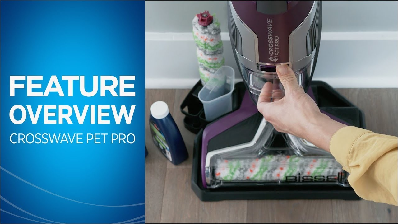 crosswavea pet pro feature overview bissell