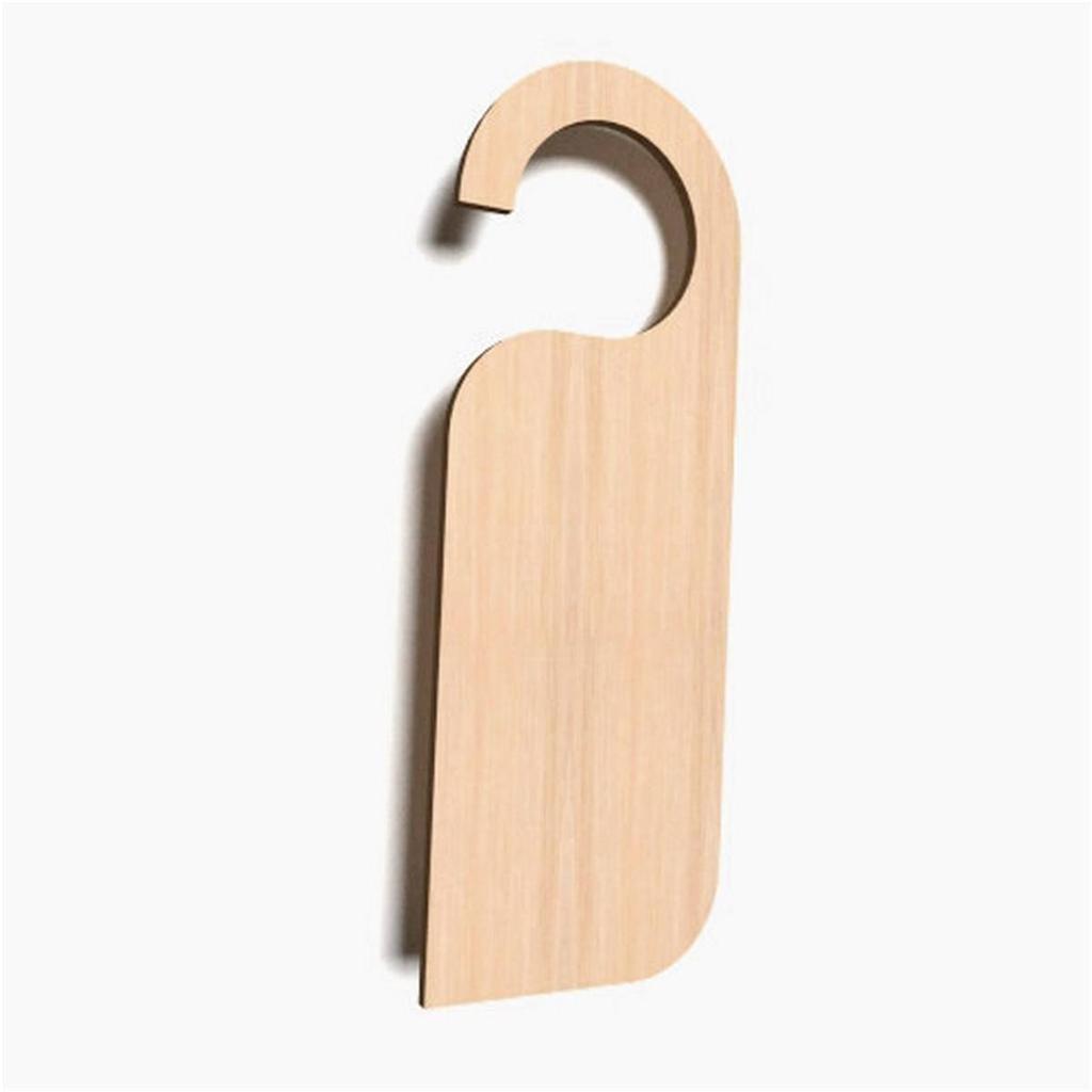 Blank Wooden Door Hangers 10x Wooden Door Hanger Sign Shape Plaque Plain Tags Blank
