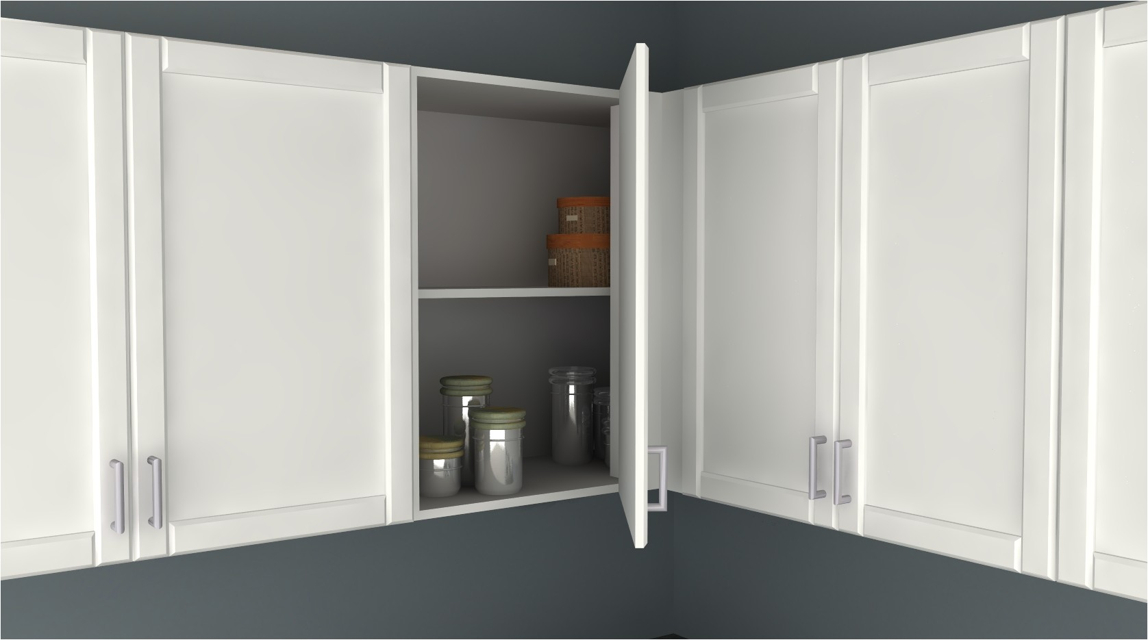 ikea kitchen hack blind corner wall cabinet