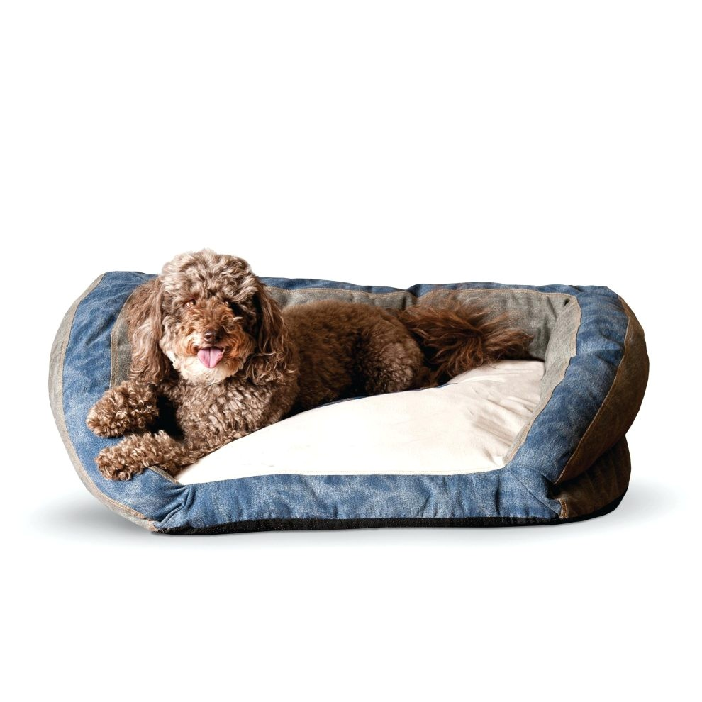large dog beds costco kamph manufacturing genuine logo bolster f5ec2a13c3293687