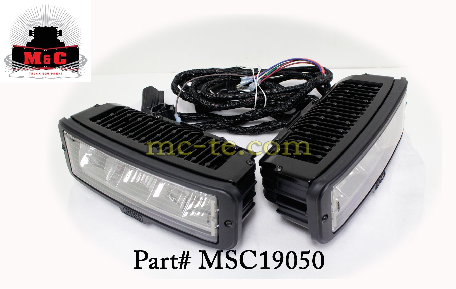 boss snowplow sl3 led headlight upgrade kit