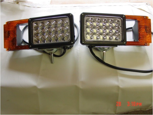 led upgrade boss snow plow light set msc03747 arrow 780 headlights