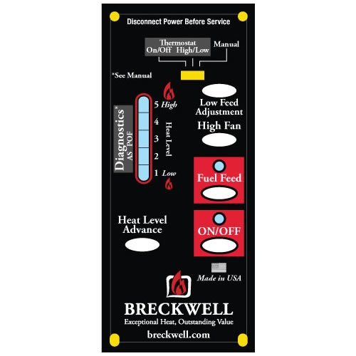 a e 101 breckwell control board digital 1 rpm c e 101