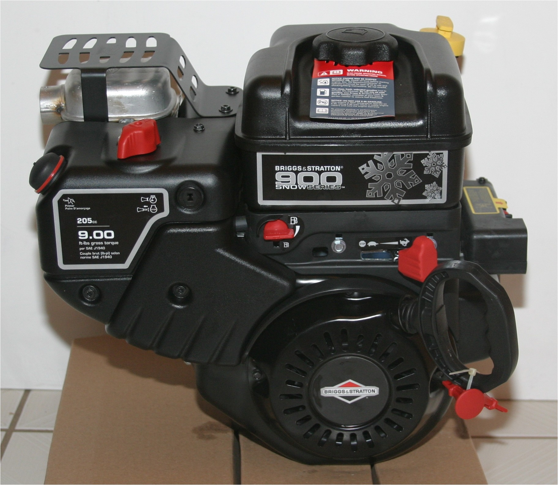 09 0 gross torque briggs and stratton 12d103 0140 900 snow series