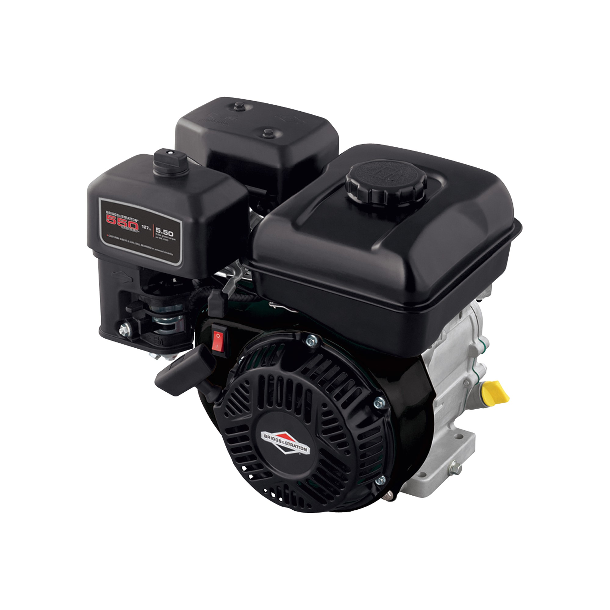 briggs stratton 550 series horizontal ohv engine 127cc 5 8in x