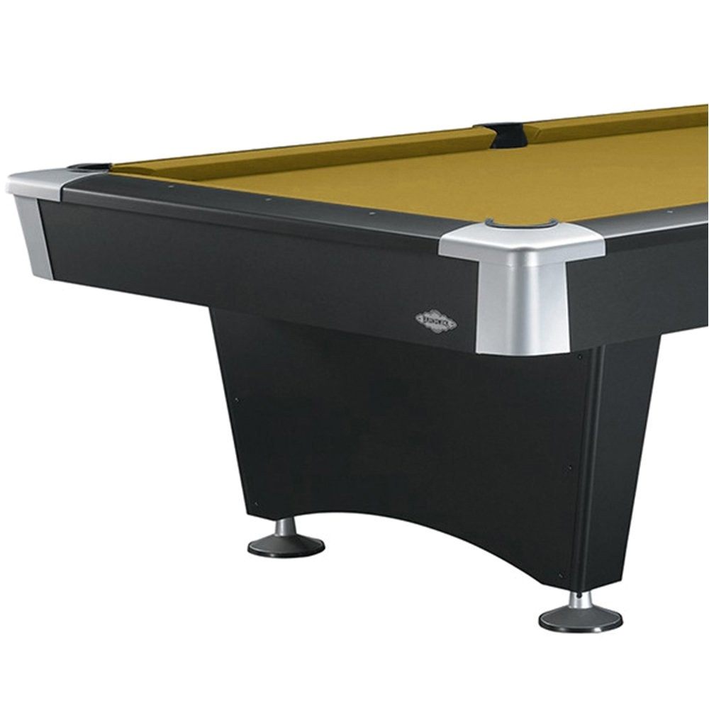 amazon com brunswick 8 foot black wolf pool table with free contender play package accessories and brunswick sahara contender cloth sports outdoors