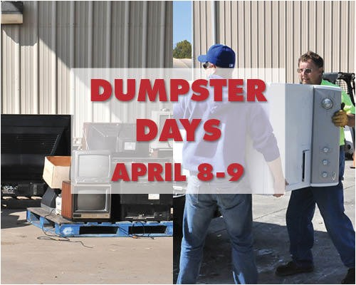spring dumpster days on april 8 9 45758155