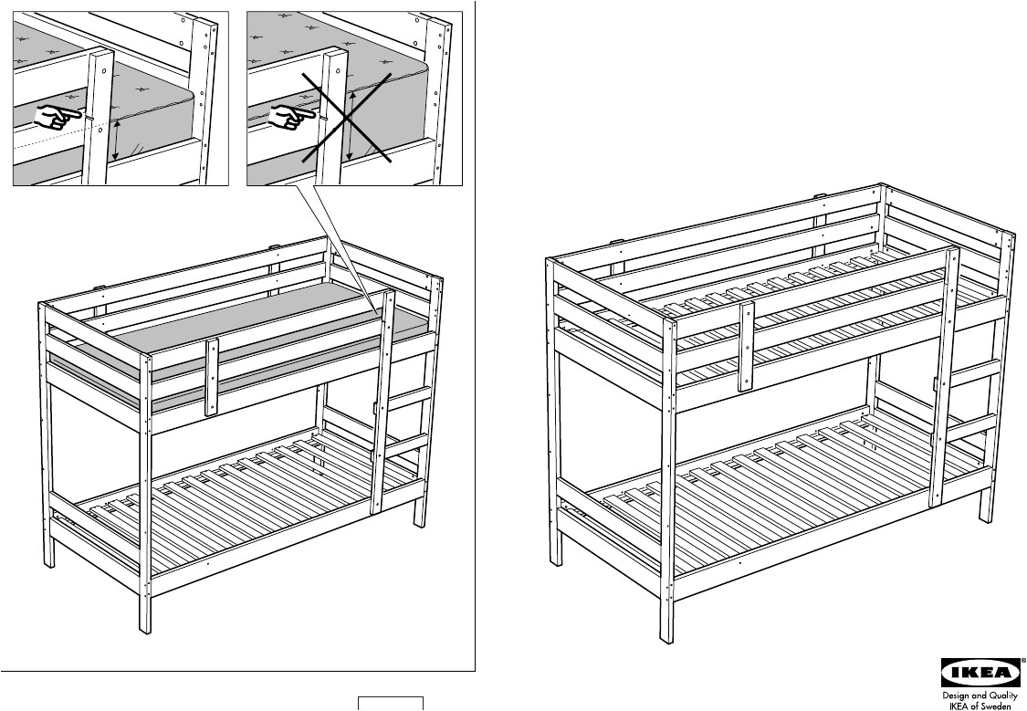 Bunk Bed assembly Instructions Pdf 17 Best Ideas Of Ikea Loft Bed Manual