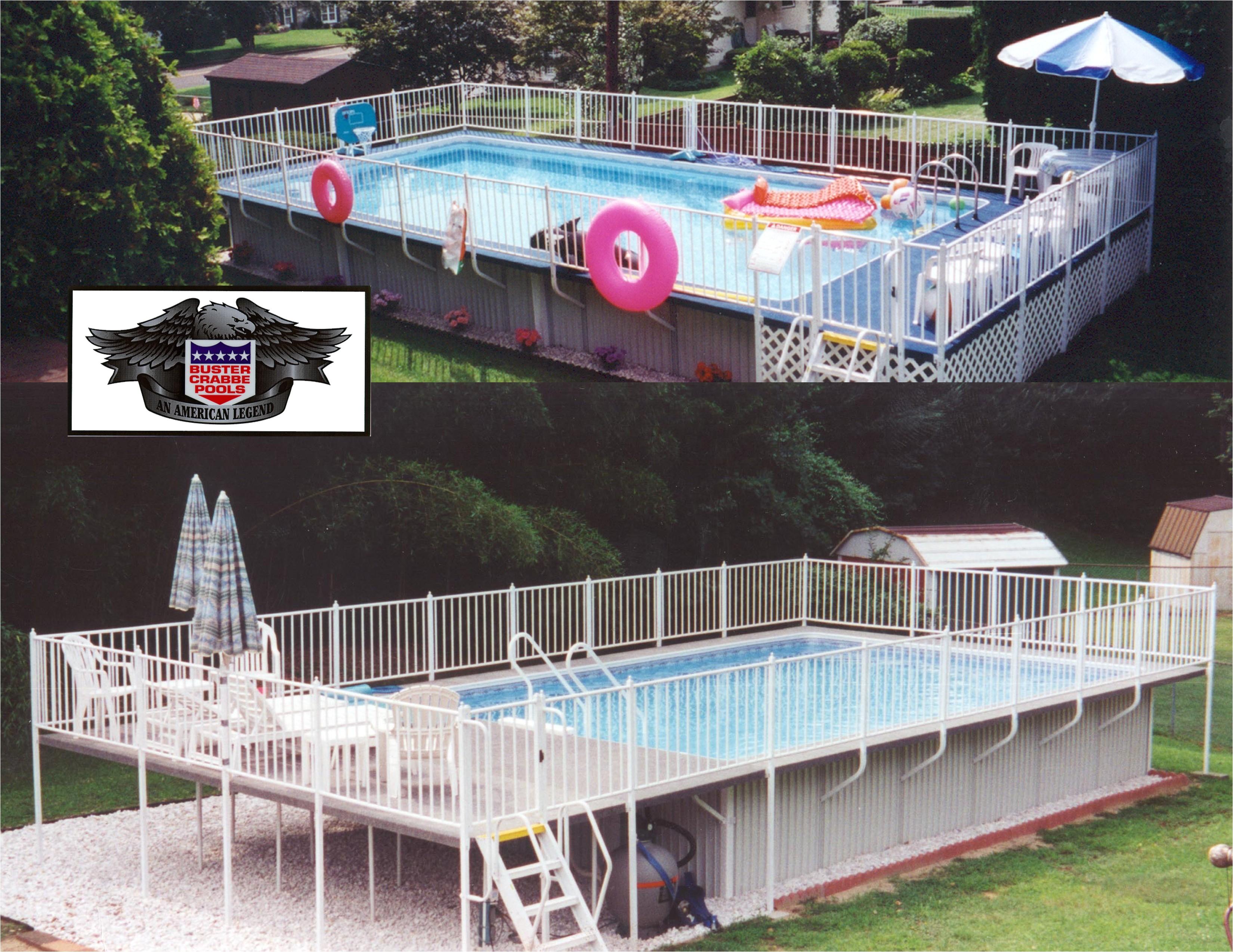 Aquasport 52 pools from aquasport pools llc buster crabbe for Pool dealers