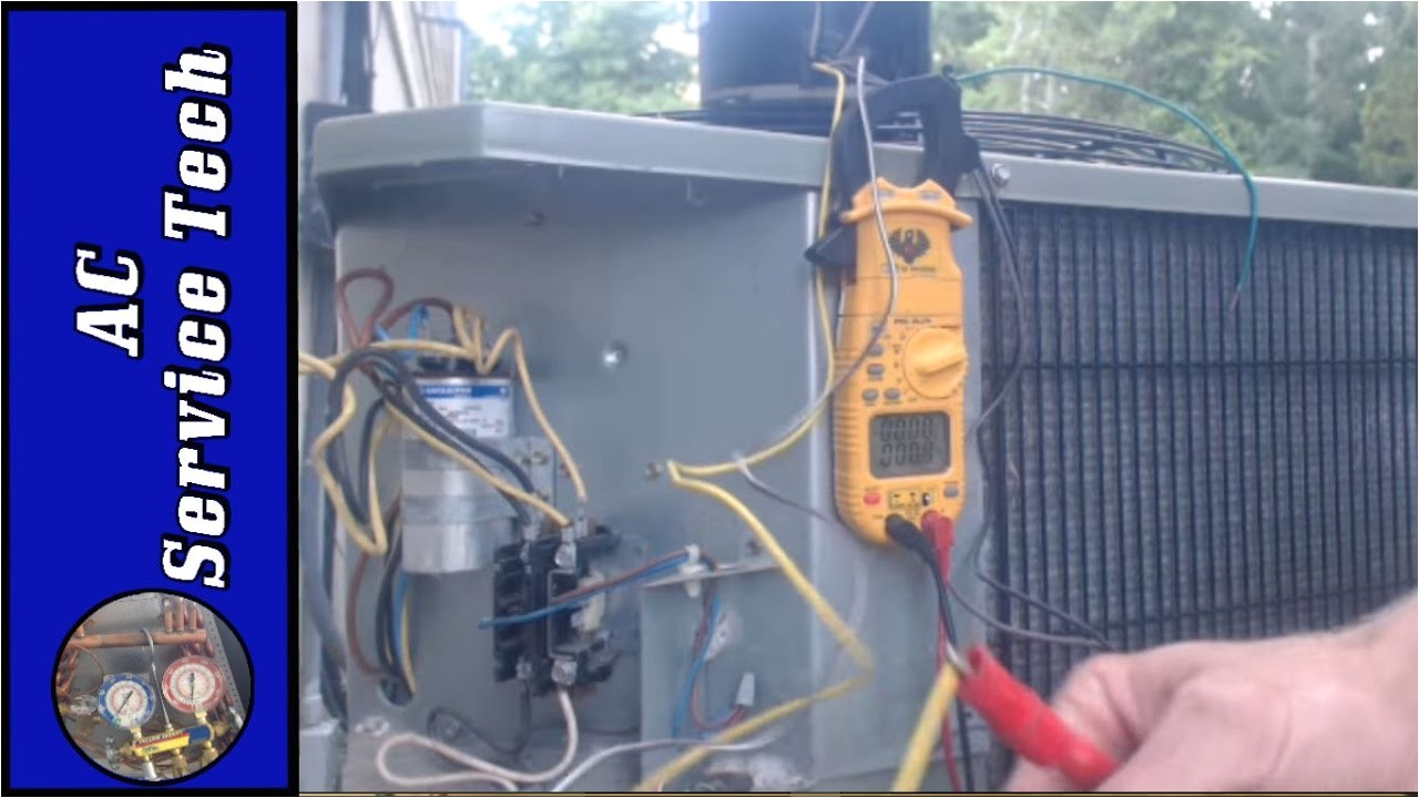 4 wire and 3 wire condenser fan motor wiring how to eliminate 2 run capacitors ac service tech llc