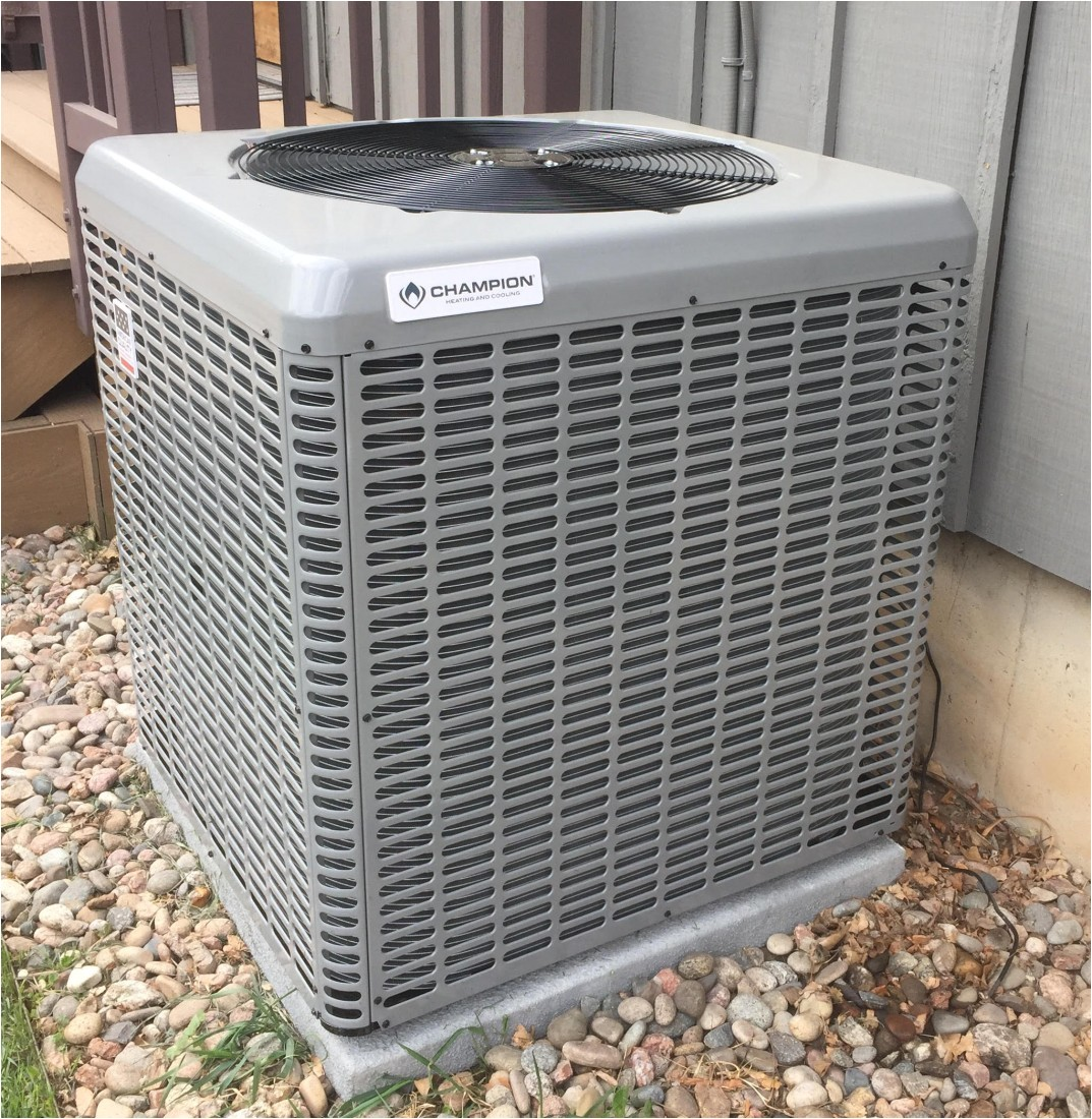 why we choose champion brand air conditioning equipment ae12