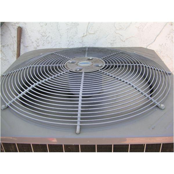 ac condenser fan motor making noise