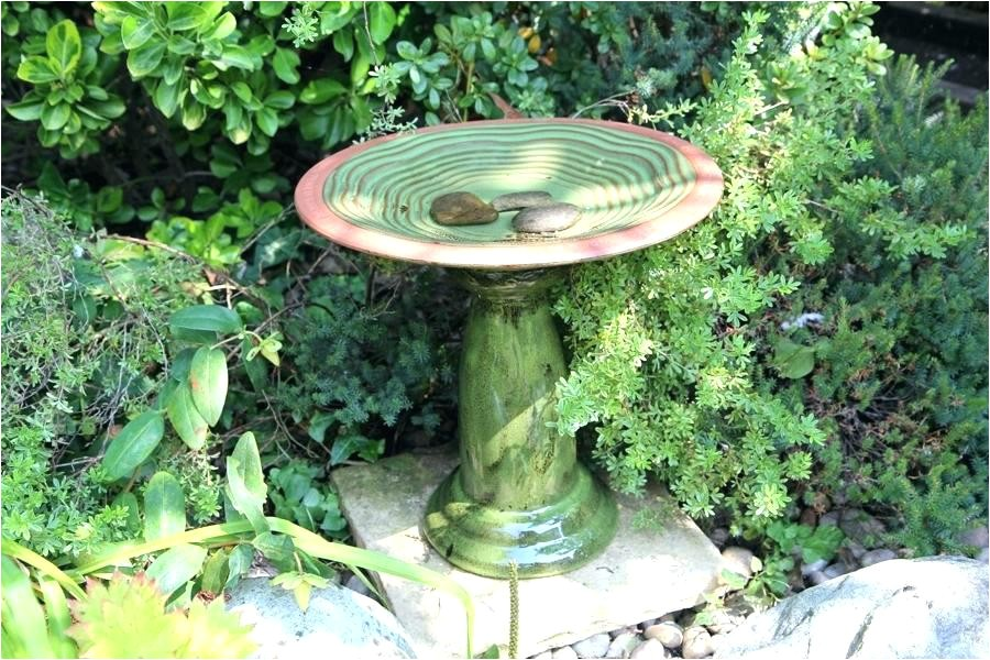 bird bath bowl replacement cement concrete bowls ceramic