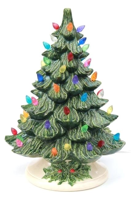 related post ceramic tree lights christmas replacement michaels hobby lobby light up home decor lighted trees
