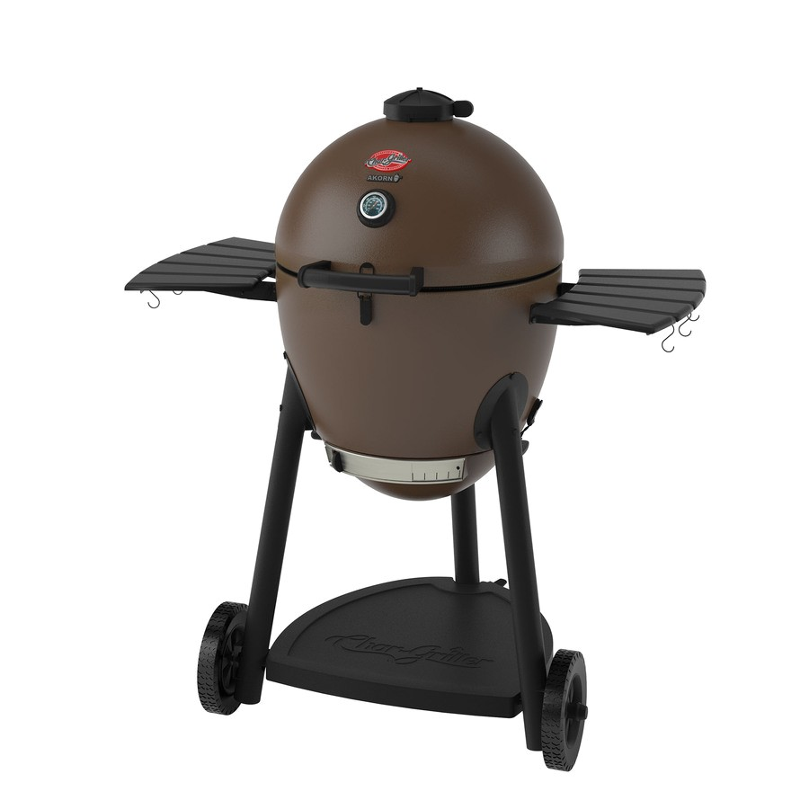 Char-griller Akorn 20-in Kamado Charcoal Grill Review Shop Char Griller Akorn 20 In Brown Kamado Charcoal Grill