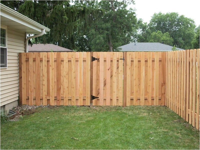 inexpensive cedar privacy fence plans