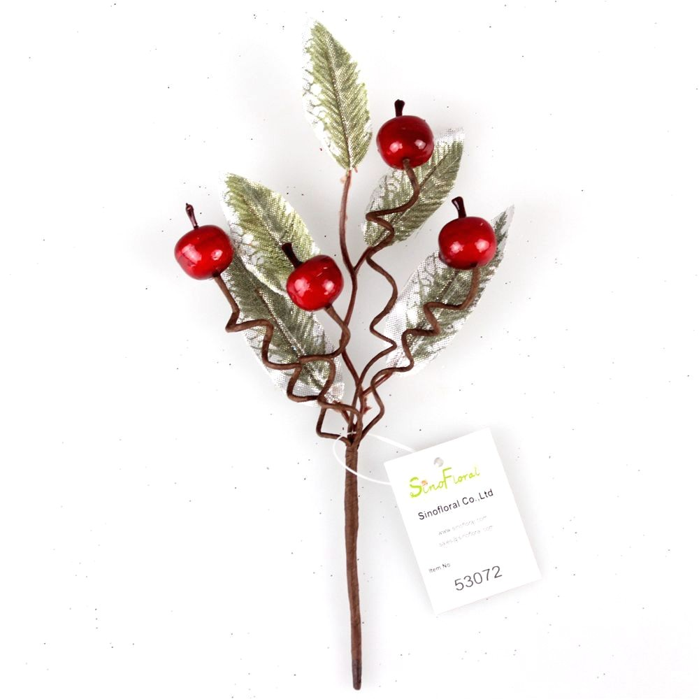 small christmas berry picks wholesale 21cm53072