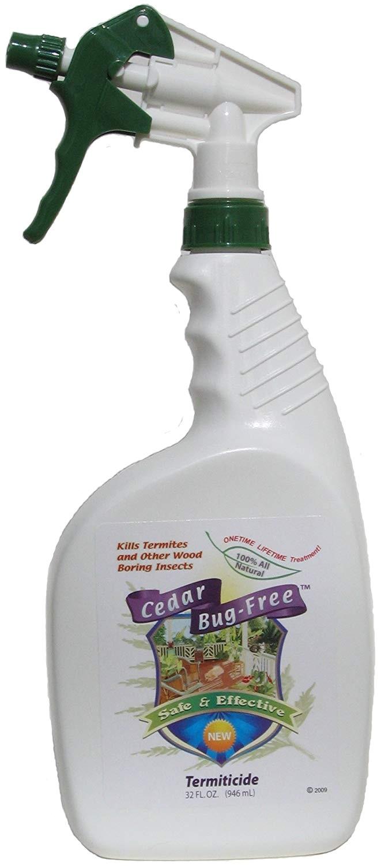 amazon com termite control cedar bug free termiticide natural termite treatment termite spray 32 oz everything else