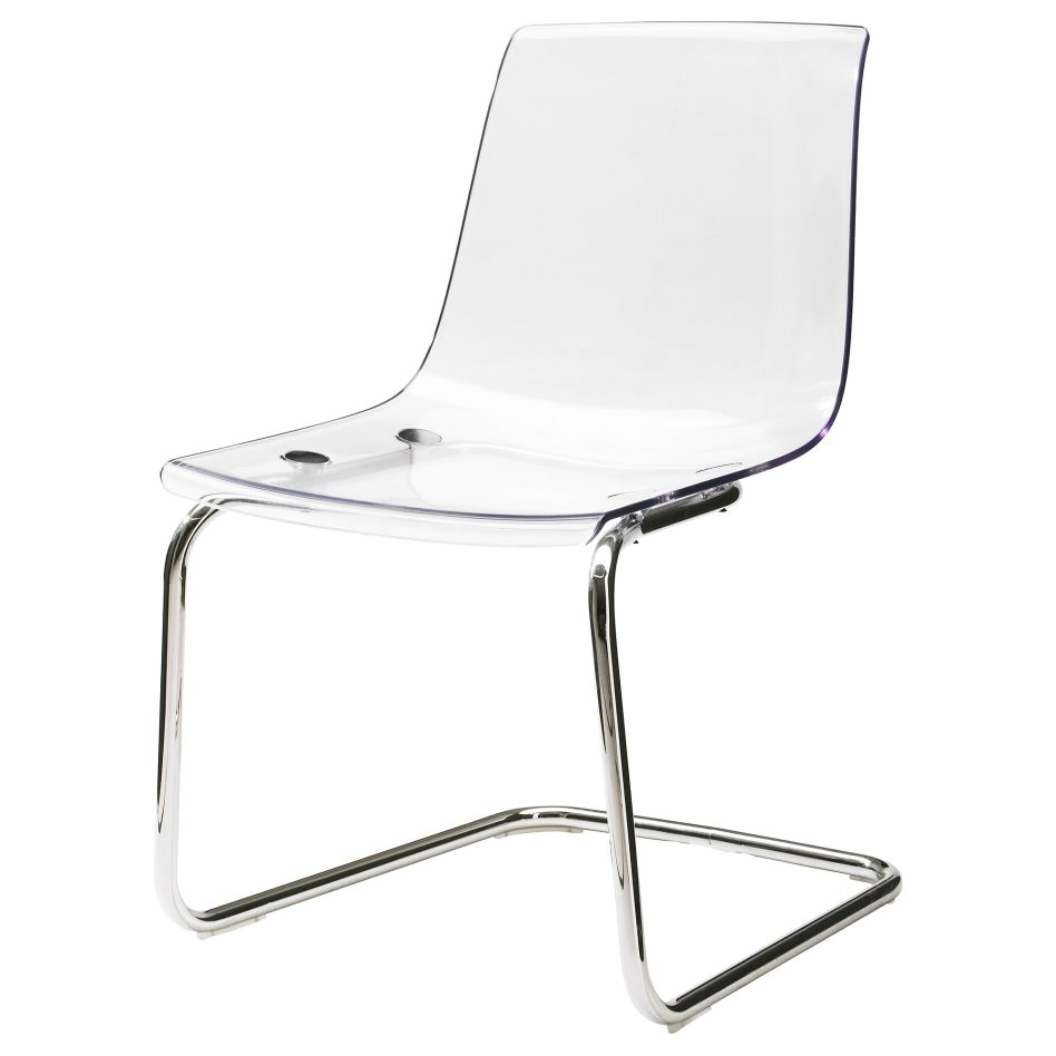 Clear Plastic Desk Chair Ikea Furniture Cozy Surprising Home Troy Clear Small Dining
