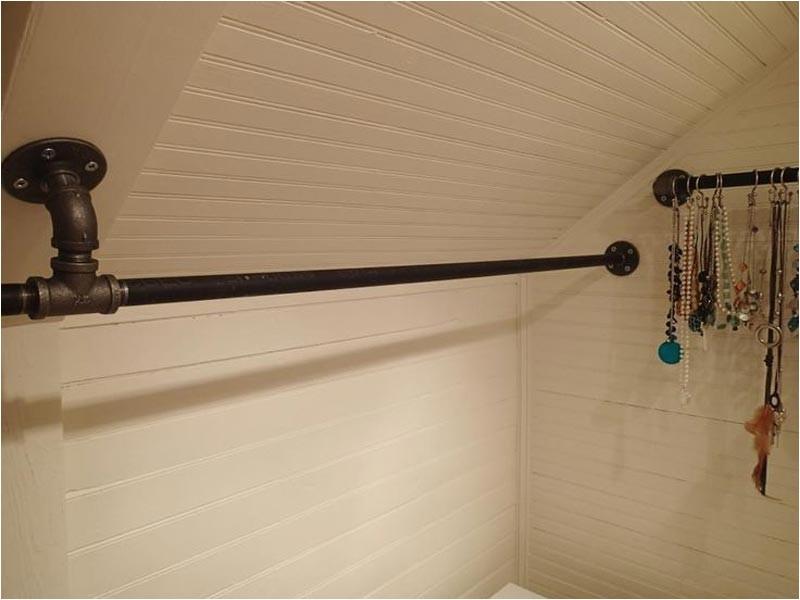 Closet Rod Bracket for Sloped Ceiling Closet Rod Bracket for Sloped Ceiling Get even More