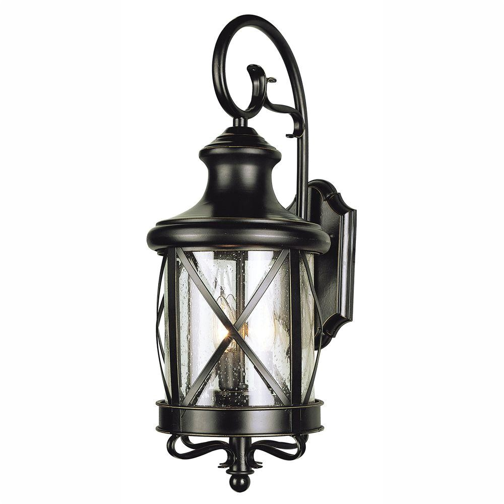 Coach Lights at Home Depot Bel Air Lighting Carriage House 2 Light Outdoor Oiled