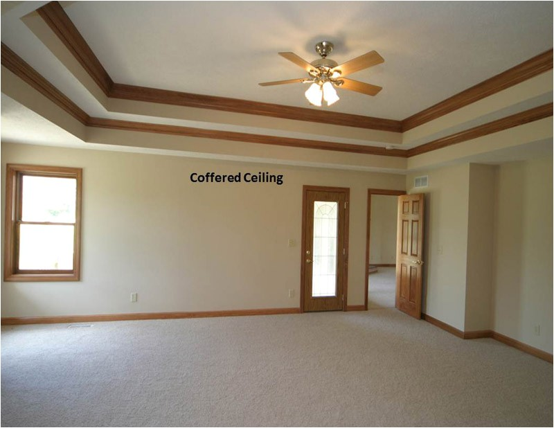 coffered tray ceilings