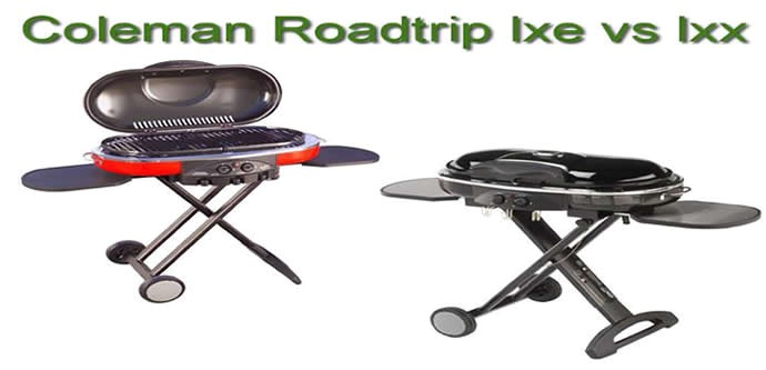 coleman roadtrip lxe vs lxx 2