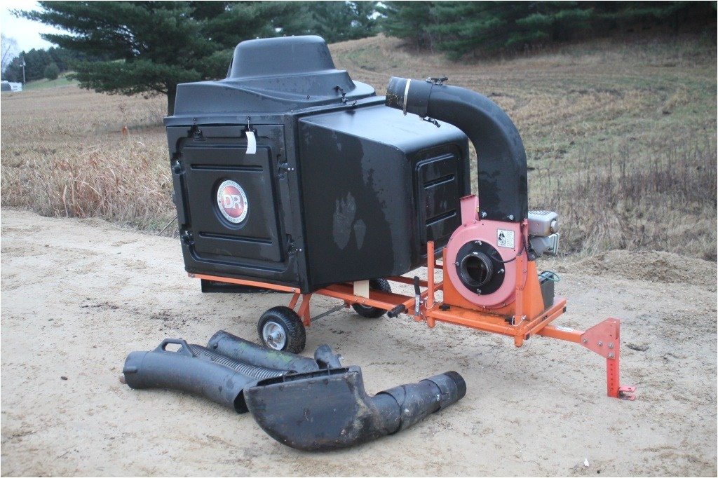 dr commercial leaf and lawn vacuum trailer