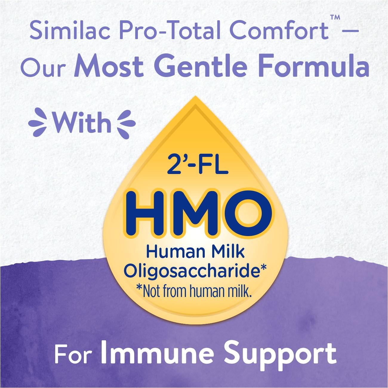 similac pro total comfort non gmo infant formula powder 22 5 oz tub walmart com