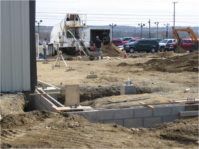 Concrete Contractors Erie Pa Akerly Concrete Construction Erie Pa Commercial Photo