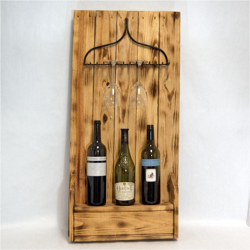 rake wine holder