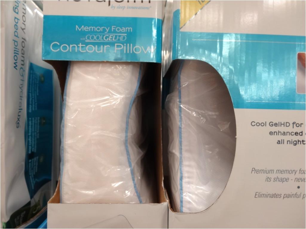 Cool Gel Pillow Costco Novaform Memory Foam Cool Gel Contour Pillow