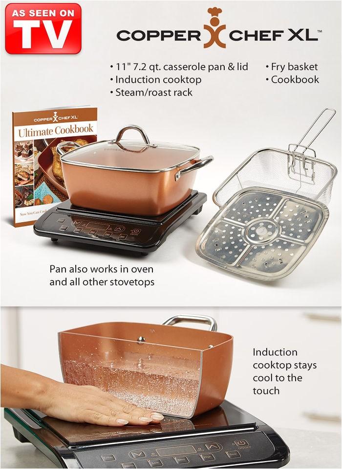 Copper Chef Customer Service Copper Chef Xl Amerimark
