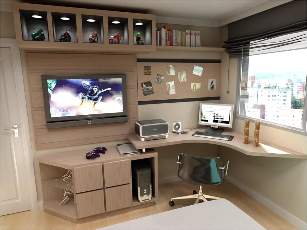 tv stands and computer desk combo