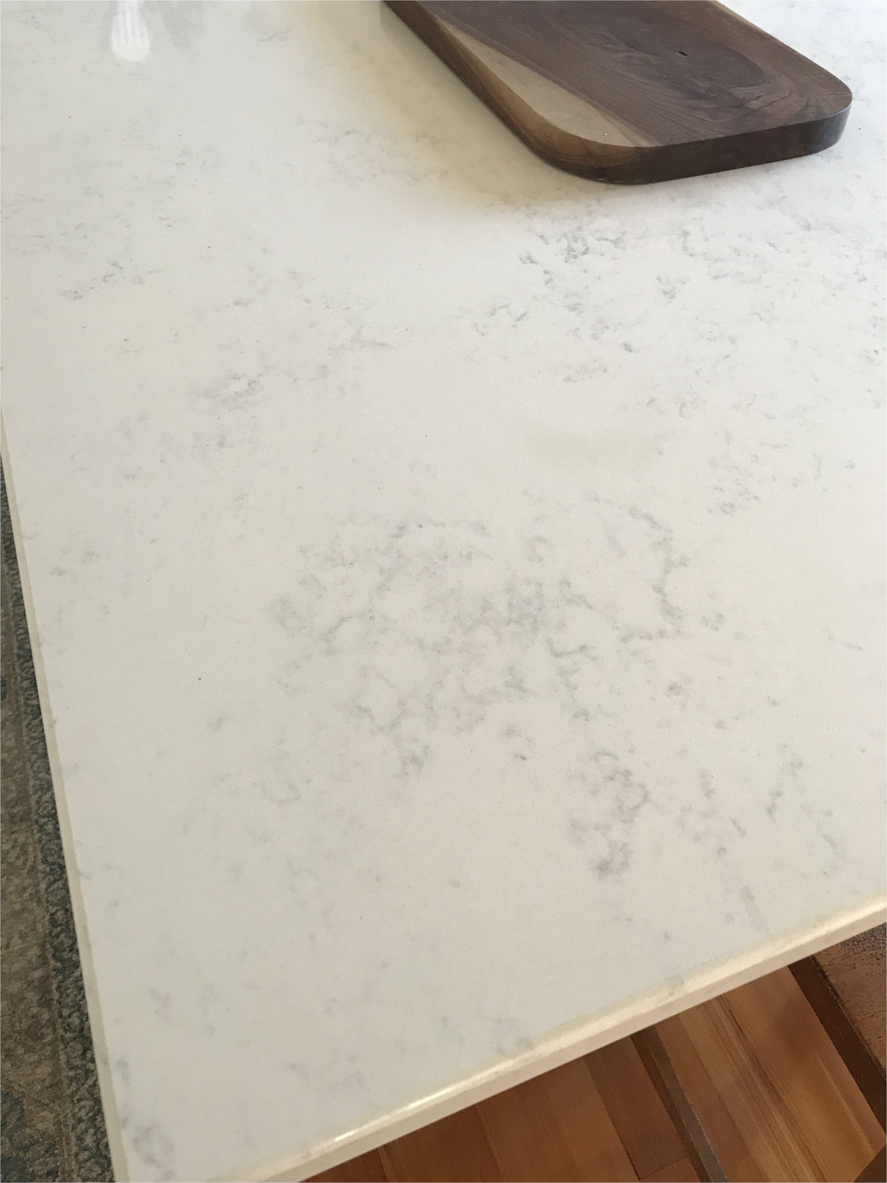 quartz countertops in calacatta vicenza with eased edge profile from albemarle countertop