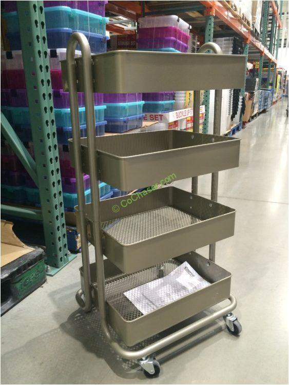 Costco 4 Tier Rolling Cart 4 Tier Rolling Cart Costcochaser